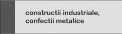 constructii industriale confectii metalice
